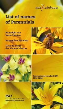 Naamlijst Vaste planten
