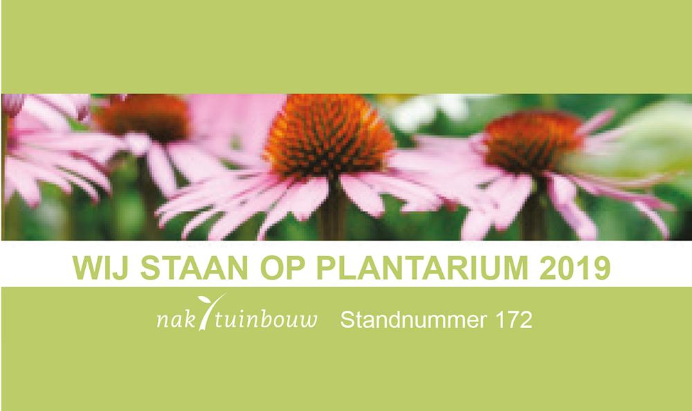 Wij staan op Plantarium 2019